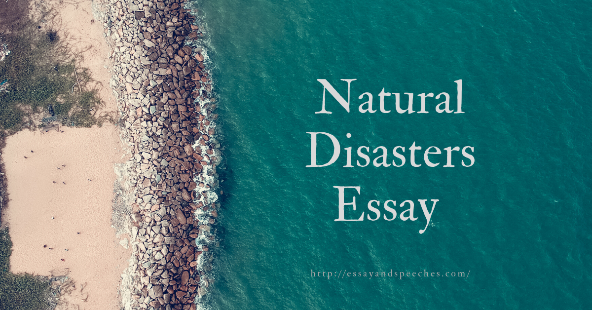 Essays on natural disasters